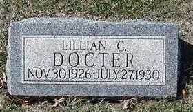 DOCTER, LILLAIN G. - Sioux County, Iowa | LILLAIN G. DOCTER