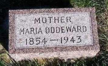DODEWARD, MARIA - Sioux County, Iowa   MARIA DODEWARD