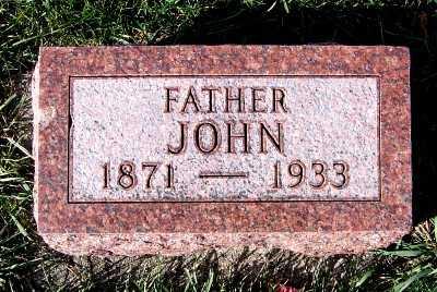 DOORENBOS, JOHN - Sioux County, Iowa | JOHN DOORENBOS