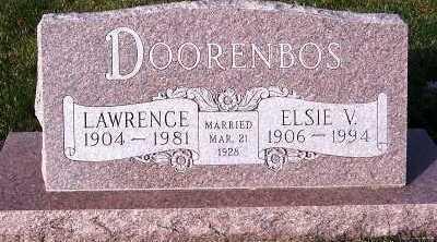 DOORENBOS, LAWRENCE - Sioux County, Iowa   LAWRENCE DOORENBOS