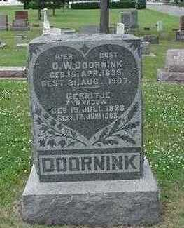 DOORNINK, D. - Sioux County, Iowa | D. DOORNINK