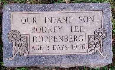 DOPPENBERG, RODNEY LEE - Sioux County, Iowa | RODNEY LEE DOPPENBERG