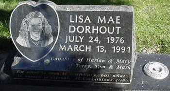 DORHOUT, LISA MAE - Sioux County, Iowa   LISA MAE DORHOUT