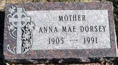DORSEY, ANNA MAE - Sioux County, Iowa | ANNA MAE DORSEY