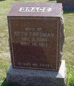 DORSMAN, GRACE - Sioux County, Iowa | GRACE DORSMAN