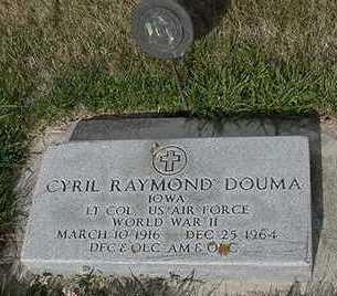 DOUMA, CYRIL RAYMOND - Sioux County, Iowa | CYRIL RAYMOND DOUMA