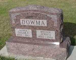 DOUMA, JENNIE - Sioux County, Iowa | JENNIE DOUMA