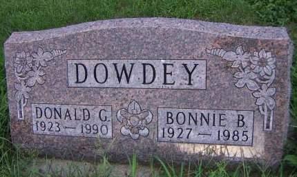DOWDEY, BONNIE B. - Sioux County, Iowa | BONNIE B. DOWDEY