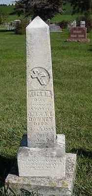 DOWNEY, ALICE M. - Sioux County, Iowa | ALICE M. DOWNEY