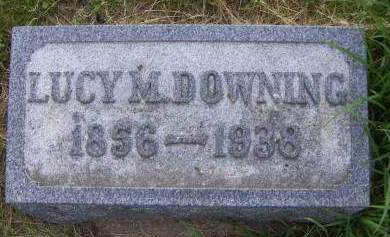 DOWNING, LUCY M. - Sioux County, Iowa | LUCY M. DOWNING