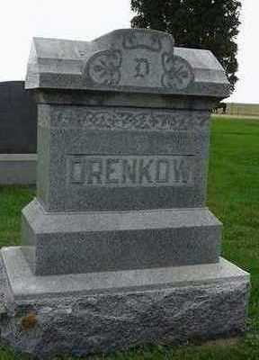 DRENKOW, HEADSTONE - Sioux County, Iowa | HEADSTONE DRENKOW