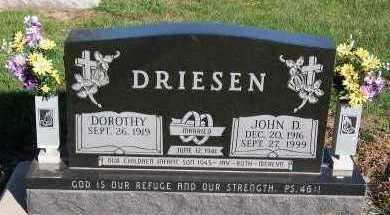 DRIESEN, DOROTHY - Sioux County, Iowa | DOROTHY DRIESEN