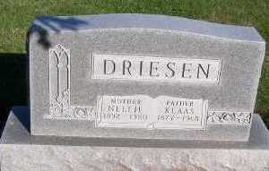DRIESEN, NELLIE (MRS. KLAAS) - Sioux County, Iowa   NELLIE (MRS. KLAAS) DRIESEN