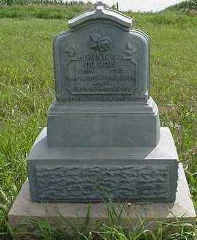 DUBOIS, JENNIE S.  (CHILD) - Sioux County, Iowa | JENNIE S.  (CHILD) DUBOIS