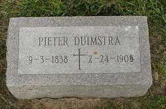 DUIMSTRA, PIETER - Sioux County, Iowa   PIETER DUIMSTRA