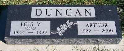 DUNCAN, LOIS V. - Sioux County, Iowa | LOIS V. DUNCAN