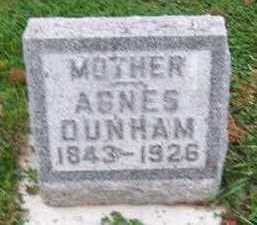 DUNHAM, AGNES - Sioux County, Iowa | AGNES DUNHAM