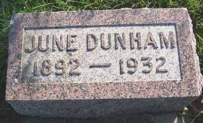 DUNHAM, JUNE - Sioux County, Iowa | JUNE DUNHAM