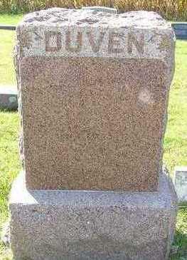 DUVEN, HEADSTONE FAMILY - Sioux County, Iowa | HEADSTONE FAMILY DUVEN