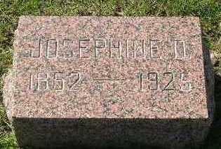 DUVEN, JOSPHINE D. - Sioux County, Iowa   JOSPHINE D. DUVEN