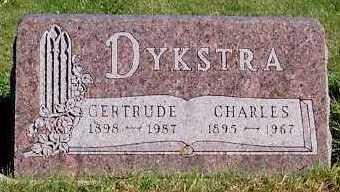 DYKSTRA, GERTRUDE - Sioux County, Iowa | GERTRUDE DYKSTRA