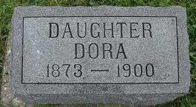DYKSTRA, DORA - Sioux County, Iowa | DORA DYKSTRA