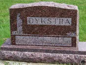 DYKSTRA, EELTJE - Sioux County, Iowa   EELTJE DYKSTRA
