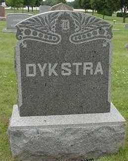 DYKSTRA, HEADSTONE - Sioux County, Iowa | HEADSTONE DYKSTRA