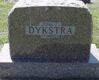 DYKSTRA, JOHN J. - Sioux County, Iowa   JOHN J. DYKSTRA