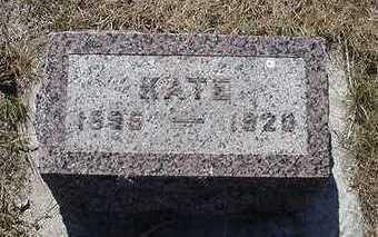 DYKSTRA, KATE - Sioux County, Iowa | KATE DYKSTRA