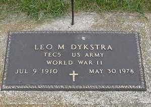 DYKSTRA, LEO M. - Sioux County, Iowa | LEO M. DYKSTRA