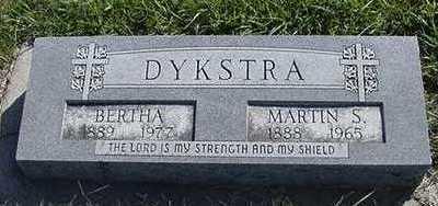DYKSTRA, MARTIN S. - Sioux County, Iowa | MARTIN S. DYKSTRA