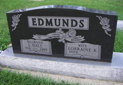 EDMUNDS, L. DALE - Sioux County, Iowa   L. DALE EDMUNDS