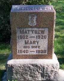 EERNISSE, MATTHEW - Sioux County, Iowa   MATTHEW EERNISSE