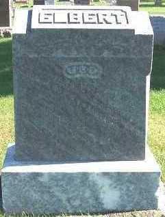 ELBERT, JOSEPH A. - Sioux County, Iowa | JOSEPH A. ELBERT