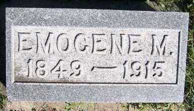 ELDREDGE, EMOGENE M. - Sioux County, Iowa | EMOGENE M. ELDREDGE