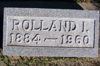 ELDREDGE, ROLLAND I. - Sioux County, Iowa   ROLLAND I. ELDREDGE