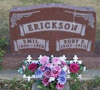 ERICKSON, RUBY E. - Sioux County, Iowa | RUBY E. ERICKSON