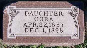 EVERS, CORA - Sioux County, Iowa | CORA EVERS
