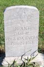 EVERS, INF DAU OF WM. & IDA - Sioux County, Iowa | INF DAU OF WM. & IDA EVERS