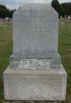 FAAS, DOUWE - Sioux County, Iowa | DOUWE FAAS