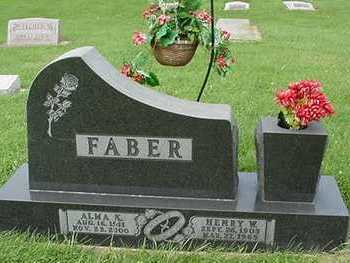 FABER, ALMA (MRS. HENRY) - Sioux County, Iowa | ALMA (MRS. HENRY) FABER
