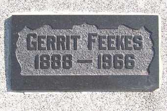 FEEKES, GERRIT - Sioux County, Iowa | GERRIT FEEKES