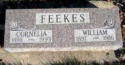 FEEKES, WILLIAM - Sioux County, Iowa | WILLIAM FEEKES