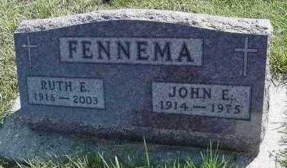 FENNEMA, JOHN E. - Sioux County, Iowa   JOHN E. FENNEMA