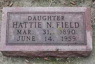 FIELD, HATTIE N. - Sioux County, Iowa | HATTIE N. FIELD