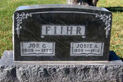 FIIHR, JOE - Sioux County, Iowa | JOE FIIHR