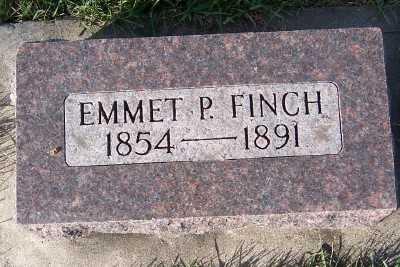 FINCH, EMMET P. - Sioux County, Iowa | EMMET P. FINCH