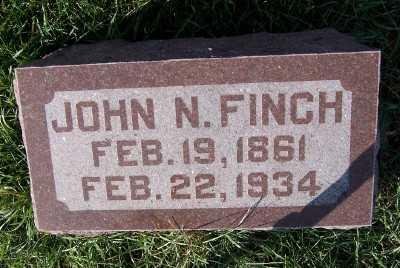 FINCH, JOHN N. - Sioux County, Iowa | JOHN N. FINCH