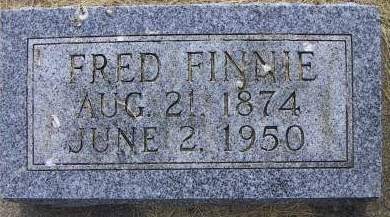 FINNIE, FRED - Sioux County, Iowa | FRED FINNIE